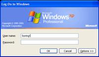 Optymalizacja komputera - Logowanie do Windows XP