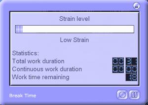 Zapobieganie Repetitive Strain Injury - program Break Time